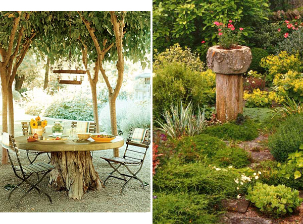 3 Ways To Decorate Old Tree Stumps In Garden 3 1 Thelocco Magazine