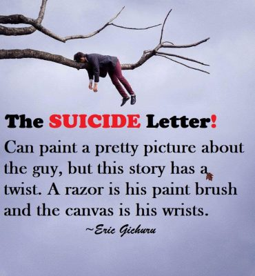 The suicide letter thelocco magazine