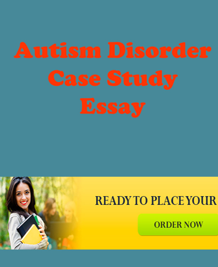 case study on autism
