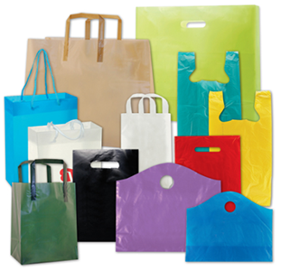 Isp shopping bags thelocco for Custom plastic t shirt bags