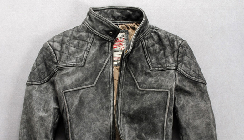 Leather jacket care products