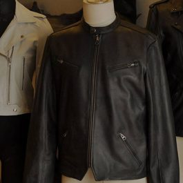 Leather jacket dry cleaning